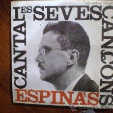 Discos de vinilo: CANTA LES SEVES CANÇONS. JOSEP MARIA ESPINÀS 1962. Lote 27188268