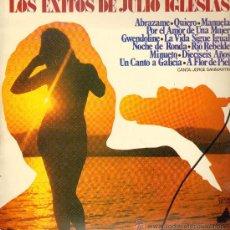Discos de vinilo: JORGE SANMARTÍN - LOS ÉXITOS DE JULIO IGLESIAS - LP 1976. Lote 25553169