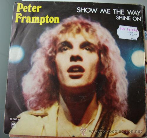 421898c9ace1e Peter frampton - show me the way - single 1976 - Sold through Direct ...