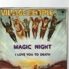 Discos de vinilo: SINGLE - VILLAGE PEOPLE -