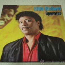 Discos de vinilo: LITTLE RICHARD ( OPERATOR 'EXTENDED MIX' - BIG HOUSE REUNION ) 1986-GERMANY MAXI. Lote 23821679