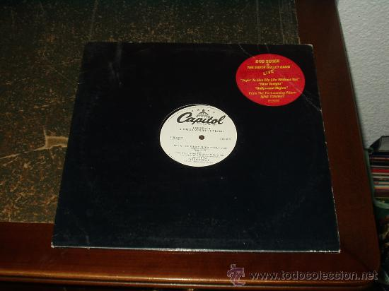 BOB SEGER & THE SILVER BULLET BAND MAXI LIVE NINE TONIGHT PROMOCIONAL MUY RARO (Música - Discos de Vinilo - Maxi Singles - Pop - Rock Extranjero de los 70)