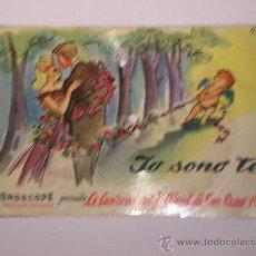 Discos de vinilo: DISCO FESTIVAL SAN REMO 1958 - JO SONO TE - FONOSCOPE - LA CETULINA QUE CANTA. Lote 25259997