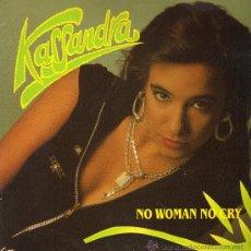 Discos de vinilo: KASSANDRA - NO WOMAN NO CRY (3 VERSIONES) - MAXISINGLE 1991. Lote 23858379