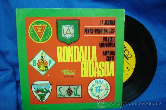 - RONDALLA BIDASOA - LA JARANA + 3 - EKIPO 1968 (Música - Discos de Vinilo - EPs - Country y Folk)