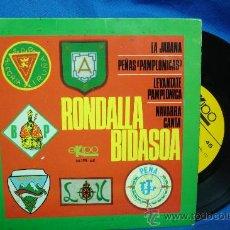 Discos de vinilo: - RONDALLA BIDASOA - LA JARANA + 3 - EKIPO 1968. Lote 23876417
