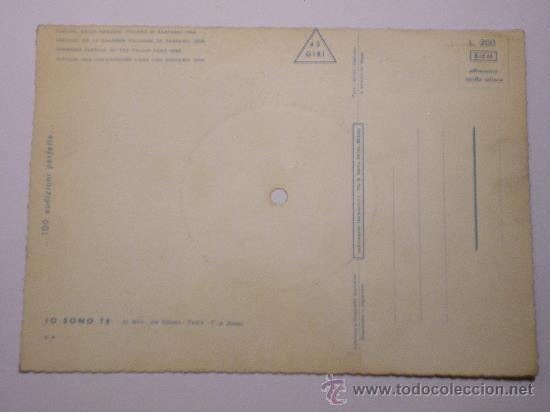 Discos de vinilo: DISCO FESTIVAL SAN REMO 1958 - JO SONO TE - Fonoscope - La Cetulina que canta - Foto 3 - 25259997