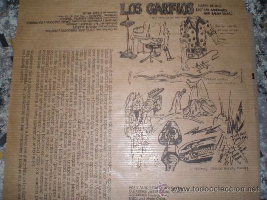 Discos de vinilo: LOS GARFIOS-BUSCAMOS DIVERSION-POWER POP,PUNK POP,CON CHICA A LA VOZ. - Foto 3 - 26624724