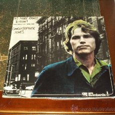 Discos de vinilo: CHRISTOPHER JONES LP NO MORE RANGE TO ROAM. Lote 23901659