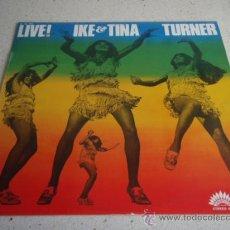 Discos de vinilo: IKE & TINA TURNER – LIVE! FRANCE 1971 AMERICA RECORDS. Lote 111764722