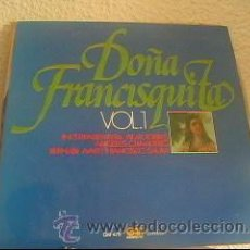 Discos de vinilo: AMADEO VIVES - DOÑA FRANCISQUITA VOL.1 - LP GRAMUSIC - GM-479 - ESPAÑA 1976 - Z1. Lote 23912521