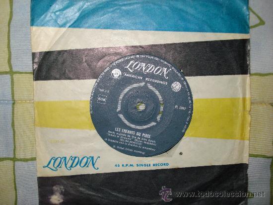 BANDA ORIGINAL DEL FILM , JAMAS EN DOMINGO -1960 DE JULIUS DASSIN ( DISCO HOLANDES ) (Música - Discos - Singles Vinilo - Bandas Sonoras y Actores)