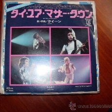 Discos de vinilo: QUEEN SINGLE VINILO JAPON TIE YOUR MOTHER DOWN. Lote 26711735