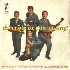 Discos de vinilo: EP EXITOS DE LOS LLOPIS - QUITO A POQUITO-ROCK HABILIDAD-CANTANTDO MIS TRISTEZAS-HAPPY BABY. Lote 23946672