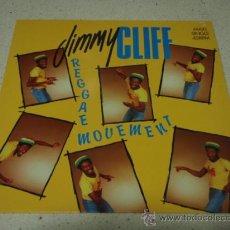 Discos de vinilo: JIMMY CLIFF (REGGAE MOVEMENT + VERSION - DUB MOVEMENT - TREAT THE YOUTH RIGHT) 1984-HOLANDA MAXI. Lote 23947128