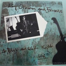 Discos de vinilo: ROY ORBISON AND FRIENDS - A BLACK AND WHITE NIGHT LIVE - LP 1989. Lote 23949391
