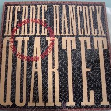 Discos de vinilo: HERBIE HANCOCK - RON CARTER - WYNTON MARSALIS - TONY WILLIAMS - LP DOBLE VINILO - QUARTET - CBS 1982. Lote 23949526