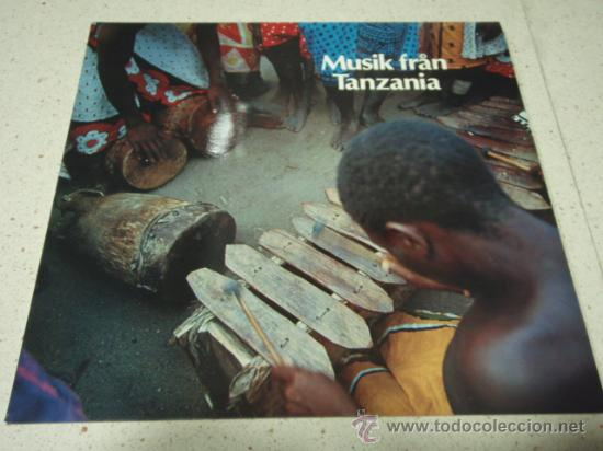 MUSIK FRAN TANZANIA '11 CANCIONES' 1974 LP33 CAPRICE (Música - Discos - LP Vinilo - Étnicas y Músicas del Mundo)