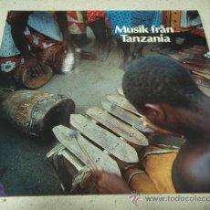 Discos de vinilo: MUSIK FRAN TANZANIA '11 CANCIONES' 1974 LP33 CAPRICE. Lote 27706597