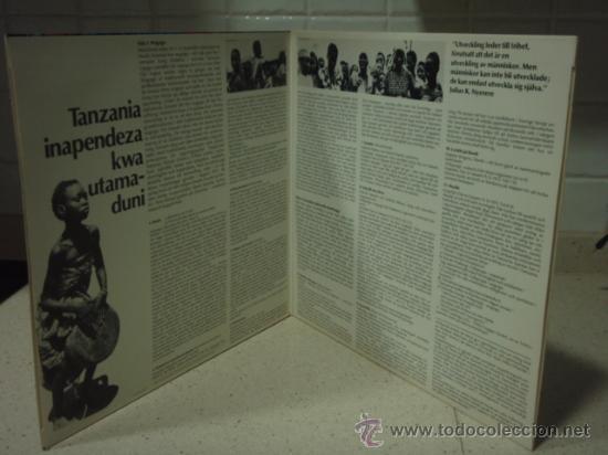 Discos de vinilo: MUSIK FRAN TANZANIA 11 CANCIONES 1974 LP33 CAPRICE - Foto 3 - 27706597
