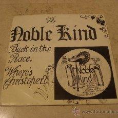Discos de vinilo: THE NOBLE KIND - BACK IN THE RACE - TNK RECORDS 1986. Lote 23954296