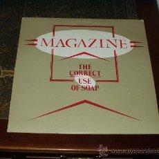 Discos de vinilo: MAGAZINE LP THE CORRECT USE OF SOAP RARO. Lote 26725641