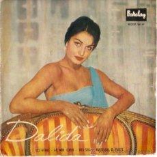 Discos de vinilo: EP DALIDA EDITADO EN ESPAÑA -LES GITANS - AIE MON COEUR-DIEU SEUL- MARCHANDE DE FRUITS. Lote 23962510