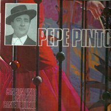 Discos de vinilo: PEPE PINTO LP SELLO COLUMBIA AÑO 1971. Lote 23964036