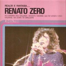 Discos de vinilo: LP RENATO ZERO - REALTÀ E FANTASIA . Lote 23968936