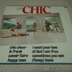 Discos de vinilo: CHIC ( C'EST CHIC ) NEW YORK - USA 1978 LP33 ATLANTIC. Lote 23970503