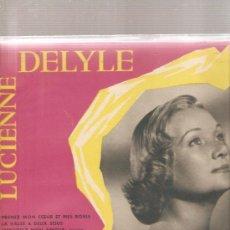 Discos de vinilo: LP LUCIENNE DELYLE - DISQUE N.2. Lote 23980250