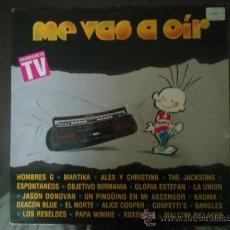 Discos de vinilo: ME VAS A OIR, DOBLE LP 1989. Lote 27223624