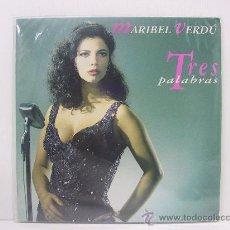 Discos de vinilo: MARIBEL VERDU - TRES PALABRAS - RARISIMO DISCO DE LA ACTRIZ ESPAÑOLA - MERCURY 1993. Lote 23987060
