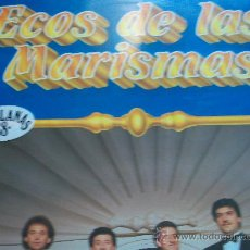 Discos de vinilo: ECOS DE LAS MARISMAS,QUEDATE LP DEL 87. Lote 24017397