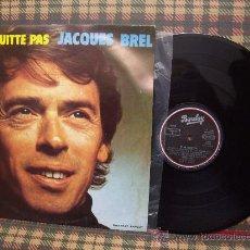 Discos de vinilo: JACQUES BREL - LP BARCLAY 1972. Lote 24026164