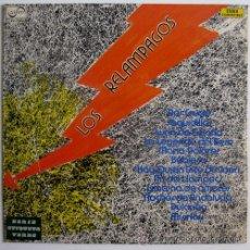 Discos de vinilo: LOS RELAMPAGOS – EXITOS - LP PROMO SPAIN 1972 – ZAFIRO ZV-723 - MINT. Lote 24046157
