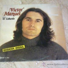 Discos de vinilo: LP- VICTOR MANUEL- EL COBARDE-1979-. Lote 27612047
