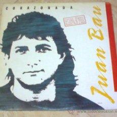 Discos de vinilo: LP- JUAN BAU- CORAZONADA-1989-. Lote 27200849