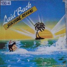 Discos de vinilo: LAID BACK-SUNSHINE REGGAE-MX45RPM-. Lote 24127188
