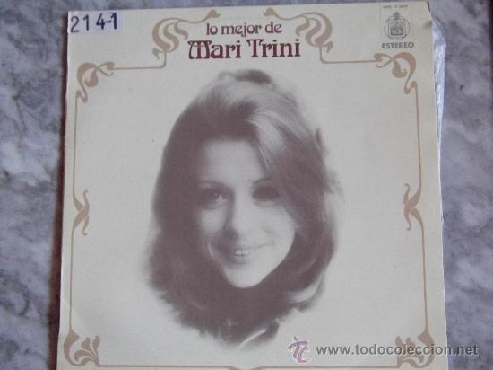 MARI TRINI-LO MEJOR-AMORES-ESCUCHAME-YO NO SOY ESA-LP33RPM-1976-HISPAVOX- (Música - Discos - LP Vinilo - Grupos Españoles de los 70 y 80)