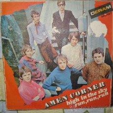 Discos de vinilo: AMEN CORNER - HIGH IN THE SKY / RUN, RUN, RUN. ( DISCO CON TRICENTER ). Lote 26885423
