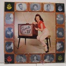 Discos de vinilo: FAVORITOS DA TV - DE BRASIL - EDICION BRASILEÑA - RGE. Lote 24086382