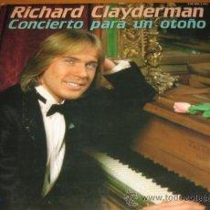 Discos de vinilo: RICHARD CLAYDERMAN - CONCIERTO PARA UN OTOÑO - 2 LP - DELPHINE 1981 SPAIN. Lote 24088901