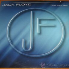 Discos de vinilo: JACK FLOYD - MOVE YOUR FEET - MX - OCEAN 2001 HOLLAND - ITALO DANCE - COMO NUEVO / N MINT. Lote 24089165