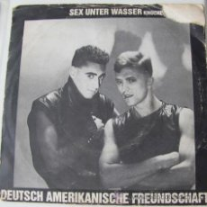 Discos de vinilo: DAF - SEX UNTER WASSER - SINGLE UK 1981. Lote 24098281