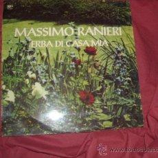 Discos de vinilo: MASSIMO RANIERI LP ERBA DI CASA MIA 1972 MILANO ROMA VER FOTO ADICIONAL TEMAS. Lote 24098579