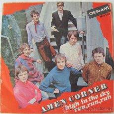 Discos de vinilo: AMEN CORNER - HIGH IN THE SKY / RUN,RUN,RUN - SINGLE 1968. Lote 24100715