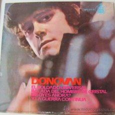 Discos de vinilo: DONOVAN - EL SOLDADO UNIVERSAL - EP ESPAÑOL 1965. Lote 24100759