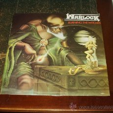 Discos de vinilo: WARLOCK LP BURNING THE WITCHES. Lote 27113113