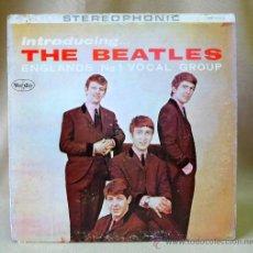 Discos de vinilo: DISCO, LP, THE BEATLES, INTRODUCING THE BEATLES, SR 1062, VJ RECORDS,12 TEMAS, ESTA EN PERFECTO ESTA. Lote 24135048